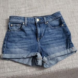 EUC Guess High waisted shorts